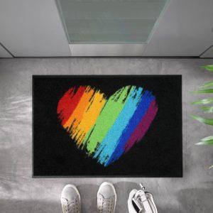 tapis-de-sol-personnalise-maison-entree-pride-heart