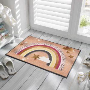 tapis-de-sol-personnalise-maison-entree-rainbow-glamour