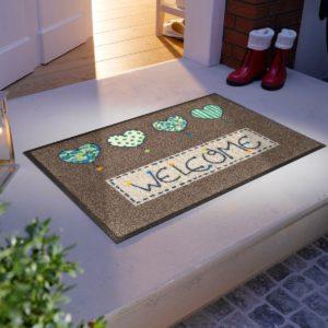 tapis-de-sol-personnalise-maison-entree-welcome-hearts