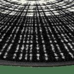 tapis-de-sol-rond-maison-personnalisé-cascara-black-85x85cm