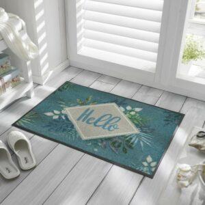 tapis-de-maison-personnalise-entree-paillasson-floral-hello