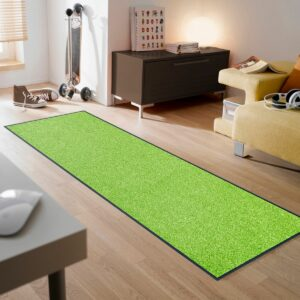 tapis-de-sol-maison-entree-monocolor-apple-green