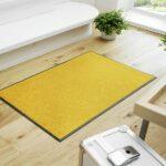 tapis-de-sol-maison-entree-monocolor-honey-gold