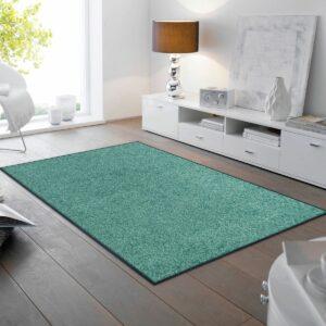 tapis-de-sol-maison-entree-monocolor-salvia-green