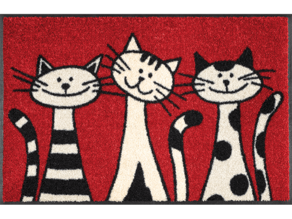 tapis-de-sol-personnalise-animaux-three-cats