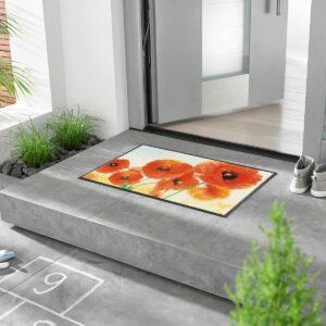 tapis-maison-personnalise-maison-entree-paillasson-sunny-poppy-milieu